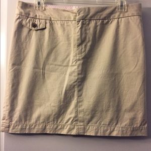 Tommy Hilfiger Khaki mini skirt